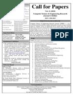 Flier CSERJ(Vol-11)(Deadlines Extended)