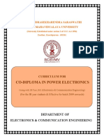 CoDiploma ECE PowerElectronics