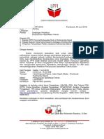 1. Undangan Kegiatan Cara Menyusun Spesifikasi Teknis