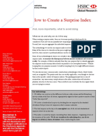HSBC--How to Create a Surprise Index