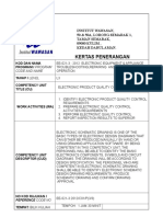 K.P Quality Requirement STANDARD