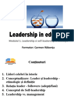 Leadership Si Self-leadership