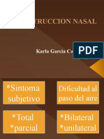 Obstruccion Nasal