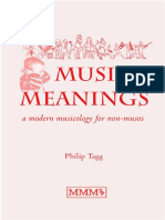 Music's Meanings Philip Tagg