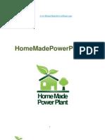 8157260 Home Made Power Plant