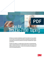 Tips for Trouble-Free Taping