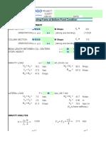 Lateral Frame Formulas