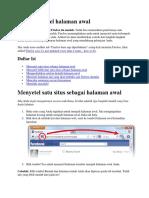 Cara Menyetel Halaman Awal Di Mozilla Firefox