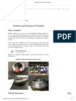 Weldolet and Dimension of Weldolet