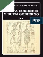 Guaman Poma de Ayala. Cronica y Buen Gobierno 2