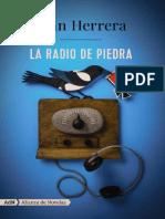 La radio de piedra de Juan Herrera
