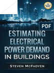 Estimating Electrical Power Demand in Buildings - Steven McFadyen
