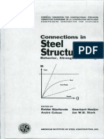 Connections In Steel Structures II - Behavior Strength and Design