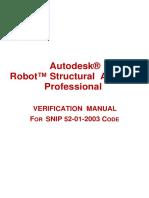 Verification Manual Russian Code SNiP 52-01-2003
