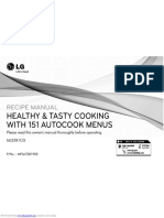 LG recipe manual