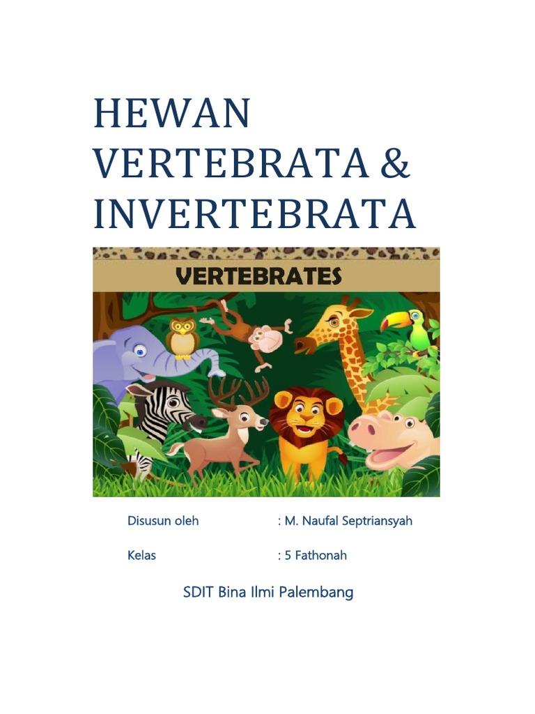 7100 Koleksi Gambar Hewan Avertebrata Dan Invertebrata Gratis Terbaik