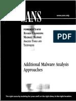 610.2 - Additional Malware Analysis Approaches.pdf