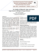 Assessment of Water Quality of Himayath Sagar and Osman Sagar Based on Biological Oxygen Demand