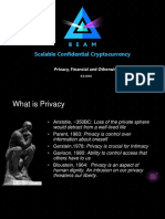 Beam - Privacy, Financial and Otherwise
