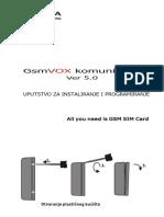 GsmVOX User Manual Ver50 Srb