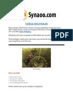 Rangkuman Materi Gerak Melingkar Lengkap By Synaoo.com
