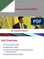 Unit 6 -Enhancemnet skills.ppsx