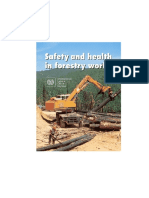 Safety and Health in Forestry Work
