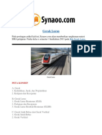 Rangkuman Materi Gerak Lurus PDF By Synaoo.com