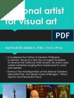National Artist for Visual Art