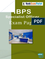 Download IBPS Specialist Officers Previous Year Exam Papers eBook