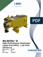 54149 Milroyal B HPD Low Flow