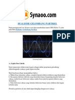Rangkuman Materi DUALISME GELOMBANG PARTIKEL PDF By Synaoo.com