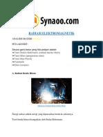 Rangkuman Materi RADIASI ELEKTROMAGNETIK PDF by Synaoo.com