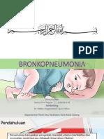 Bronko Pneumonia pada anak