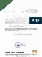 Certificado ISTAC
