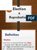 Election & Reprobation