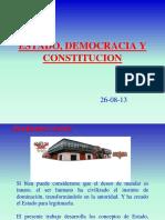 Presentacion Estado, Democracia y Constitucion