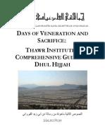 Dhul+Hijjah+Guide