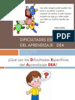 Dificultades específicas de aprendizaje   DEA.pptx