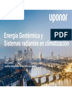 3 Energia Geotermica y Elementos Radiantes en Climatizacion UPONOR Fenercom-2016