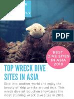 Best diving in Asia - Favorite Wreck Dive Spots in Brunei, Philippines, Borneo & Indonesia (2018)