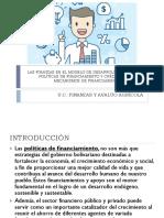 Las Finanzas en El Modelo de Desarrollo Endógeno