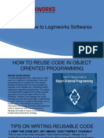HOW TO REUSE CODE IN OBJECT ORIENTED PROGRAMMING