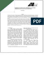EVALUASI KONDISI DAN KERUSAKAN PERKERAS...BEBERAPA RUAS JALAN KOTA KENDARI - PDF.pdf