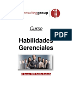 Curso Habilidades Gerenciales-First Consulting Group