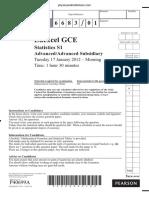 January 2012 QP - S1 Edexcel.pdf
