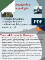 Clase 1 introduccin a la geologa 2016.ppt