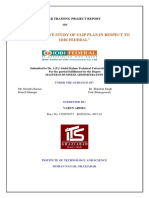 A Comparitive Study of Ulip Plan in Respect to Idbi Federal
