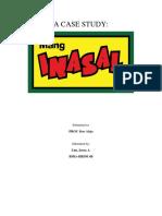 Case Study (Mang Inasal)