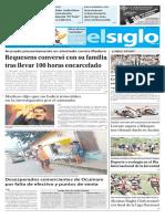 Edición Impresa El Siglo 13-08-2018
